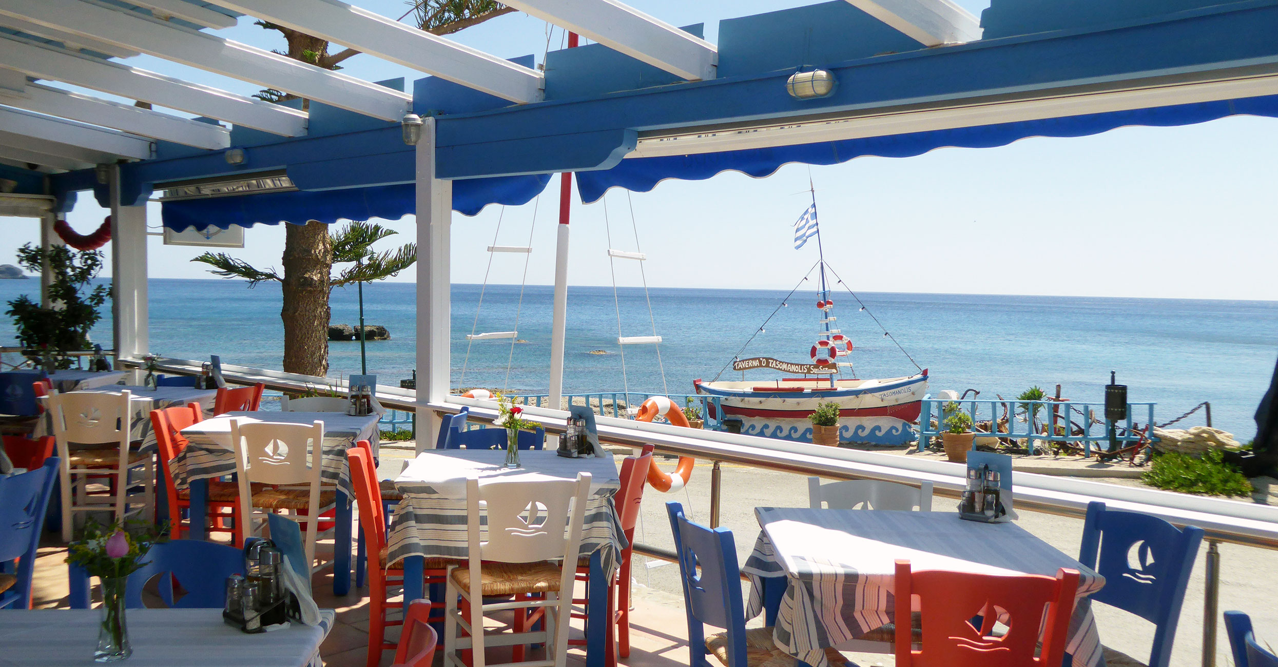 Taverna Tasomanolis Plakias Rethymno Crete Authentic Cretan kitchen